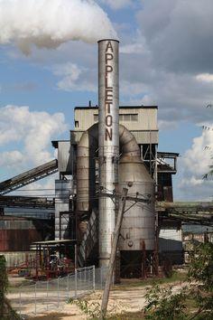 Appleton Rum Factory, Jamaica.  Sherry & I went here.