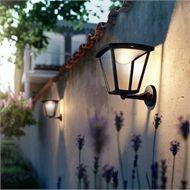 Philips Cottage Wall Lantern Black At Homebase Co Uk Led Wall Lights Outdoor Lighting Wall Lantern