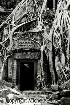 Cambodian Door Photography