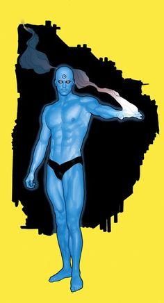 infinity-comics:  Dr. Manhattan by Adam Hughes