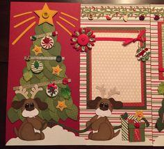 Merry-Christmas-Premade-Scrapbook-Layout-12x12