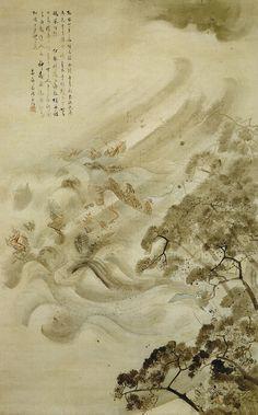 The destruction of the Mongol fleet, saving Japan from invasion. ::kamikaze_large.jpg 1,499×2,409 pixels::