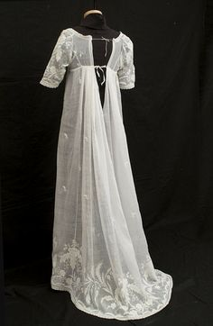 English Regency embroidery | ... Beautiful & Versatile Cloth for Regency Fashion | Jane Austen's World