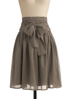 To Do: learn how to make cute skirts. nadiaz