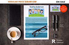 80% OFF SALE Kindergarten Teacher Resume Template  Resume Free Printable Resume Templates, Microsoft Word Resume Template, Resume Template Examples, Teacher Resume Template, Creative Resume Templates, Cv Template, Best Resume, Resume Tips, Free Resume