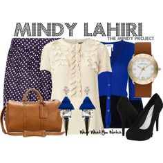 Inspired by Mindy Kaling as Mindy Lahiri on The Mindy Project - Shopping info!