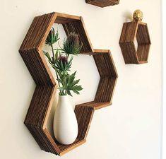 Hexagon – stylowe półki w modnym stylu!