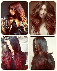 Image result for best hair colours for black hair