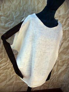 Blusón de lino.    (ref: 8213003)