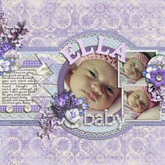 Beautiful Baby Layout