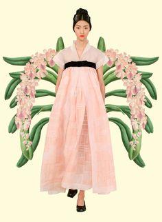 Miss Moss: Botanical Resort. Colour Mash Ups of Resort 2016 x Vintage Botanical Illustrations. Chanel.