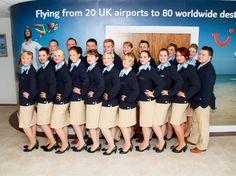 Thomson Airways [Old style uniform] Thomson Airways, Style Uniform, Cabin Crew, Love My Job, North America, Glamour, Lady, Travel, Viajes
