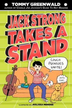 The Hardcover of the Jack Strong Takes a Stand: A Charlie Joe Jackson Book by Tommy Greenwald, Melissa Mendes Tennis Lessons For Kids, Reading Projects, Hot Stories, Reluctant Readers, New Children's Books, Wimpy Kid, Quick Reads, Language Lessons, Reading Levels