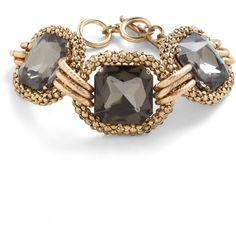 Opt for Opulence Bracelet (€22) found on Polyvore