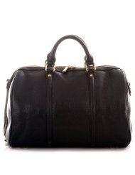 ROUVEN Black FIRST BOSTON Tote Bag Handtasche