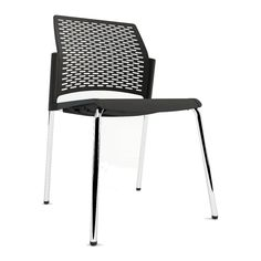 nete office chairs made in italy the nete visitor chair features a mesh polypropylene bela stackable office chair