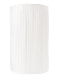 Fornasetti pleated lamp shade, White