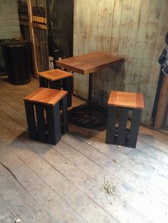 Beer crate stools