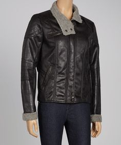 Take a look at this Black Bomber Jacket on zulily today!