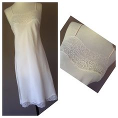 8abb28200fe6 $28 size 32 Off White, Lace Trim, One Shoulder Wedding Dress, Lace Overlay