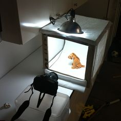 Photography tutorial:  How to Make An Inexpensive Light Tent