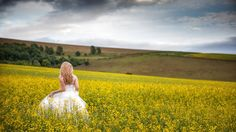 I have always loved this photo of Gemma in the rapeseed field !