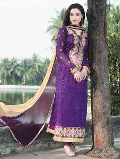 $32.68Purple Brasso Pakistani Style Suit 56609