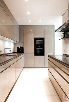 26 Modern Kitchens To Make Your Home Look Outstanding - Futuristic Interior Desi. - 26 Modern Kitchens To Make Your Home Look Outstanding – Futuristic Interior Designs Technology - Futuristic Interior, Kitchen Cabinet Design, Luxury Kitchen, Contemporary Kitchen Design, Contemporary Kitchen, Interior Design And Technology, Modern Interior Design, Kitchen Furniture Design, Modern Kitchen Design