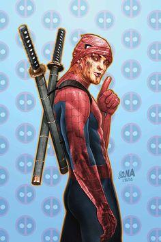 Deadpool / Spiderman?