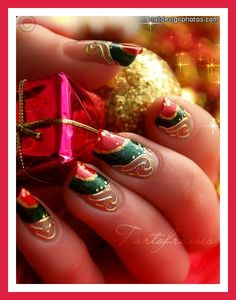 migi nail art christmas designs