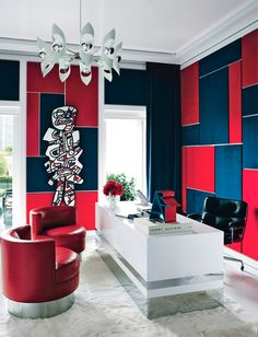 Tommy Hilfiger invites Architectural Digest and photographer Douglas Friedman (Bernstein & Andriulli) into his Miami Home. Douglas shot Mr Hilfiger and his wife Dee together at their lavish Miami address.