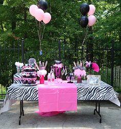 Cute birthday party idea..Minnie Mouse theme.