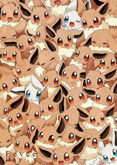 Pokémon Eevee : Illustration Description Eevee and all her evolutions are my favorite line of Pokemon ever >.< Hoping they add more in Sun and Moon. I pray for Dragon, or Ghost. Gif Pokemon, Mega Pokemon, Pokemon Eeveelutions, Eevee Evolutions, Pokemon Pins, Pokemon Memes, Pokemon Fan Art, Pokemon Tattoo, Bulbasaur