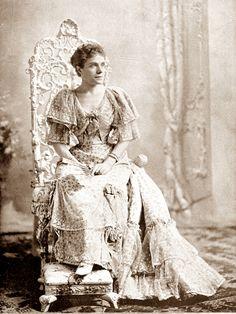 La Infanta Eulalia de Borbón y Borbón
