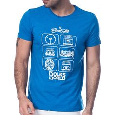 Scorp Graphics Volks World Baskılı Erkek Tişört