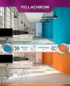 Blue Opal, Color Combinations, Home Decor, Color Combos, Decoration Home, Room Decor, Colour Combinations, Home Interior Design, Colour Schemes