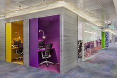 Colorful office design - Mercado Libre Offices - Alem - Office Snapshots