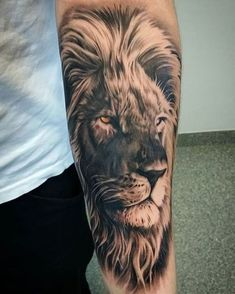 Tattoos for men Lion tattoo Lion tattoo on the wrist . - Tattoos for men lion tattoo on the wrist lion tattoo cover lion bay - Lion Forearm Tattoos, Lion Head Tattoos, Mens Lion Tattoo, Leo Tattoos, Bild Tattoos, Animal Tattoos, Body Art Tattoos, Wrist Tattoos, Lion Tattoos For Men