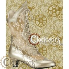 Cathedral Victorian Boot - WANT! also want, like, 85% of their entire stock....