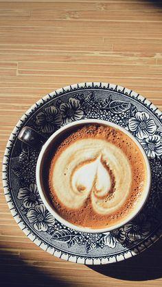 Heart Coffee Cappuccino wallpaper