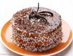 Romanian Desserts, Romanian Food, Caramel Deserts, Cake Recipes, Dessert Recipes, Dessert Bread, Food Cakes, Something Sweet, Bakery