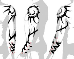 arm tribal tattoos designs image