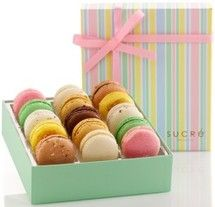 You can never go wrong with a box of macarons!