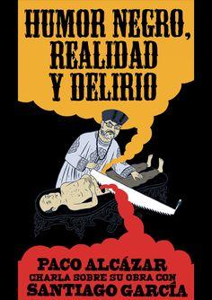 """Nueva sesión del X Seminario de la Fund. Caballero Bonald. """"Humor negro, realiad y delirio"""". Jueves 25, 18 h. #OJRTV"""