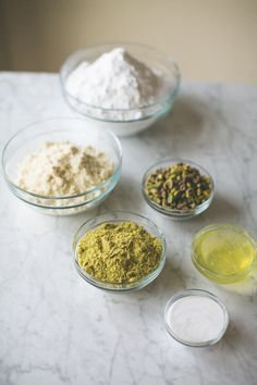 #macarons, #recipe, #pistachios, #ingredients, #baking  Photography: Matthew Land Studios - www.matthewland.com  Read More: http://www.stylemepretty.com/living/2014/04/18/pistachio-macarons/
