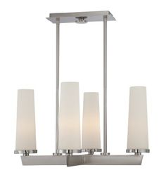 Quoizel UPCL5004BN Uptown Chelsea Loft 4 Light Contemporary Rod Hung Pendant Light Fixture ** See this great product.