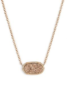 Kendra Scott Kendra Scott 'Elisa' Pendant Necklace available at #Nordstrom