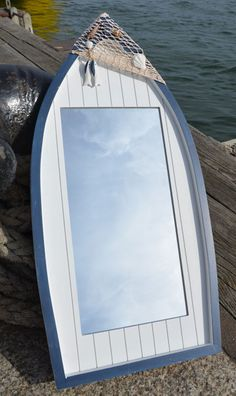 Nautical Mirrors - ideal bathroom nautical items, beach mirrors for nautical decoration in a nautical decor themed home or for coastal decor in a nautical home, seaside bathroom, garden or boat in the UK including cut out heart mirror, beach mirror with fish and a castaway driftwood mirror.