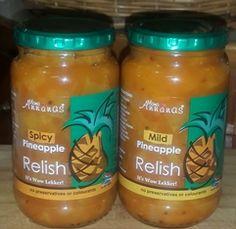 Estie Badenhorst se Pynappelsmaaklikheid (Relish) Wow Recipe, Pickels, South African Recipes, Preserving Food, Esty, Preserves, Salsa, Spicy, Cooking