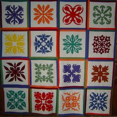 hawaiian quilt pictures | Hawaiian Quilts in Needlepoint - Nuts about Needlepoint